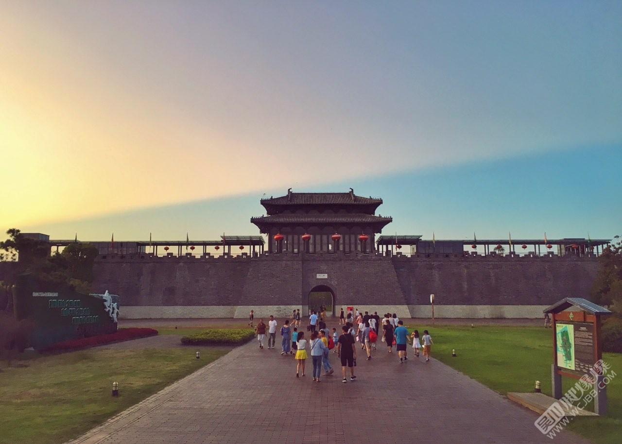 揚州的夕陽