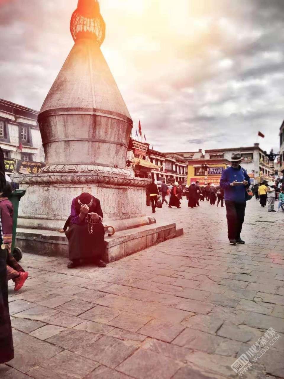 西藏的风景优美