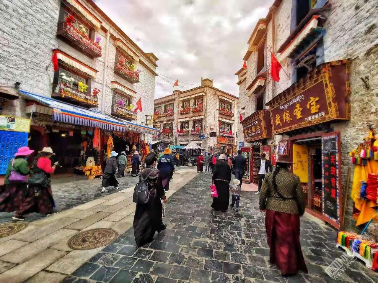 西藏的風景優美
