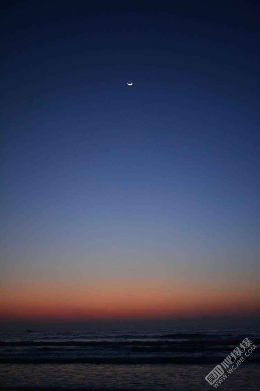 吳陽金海岸絕美日出