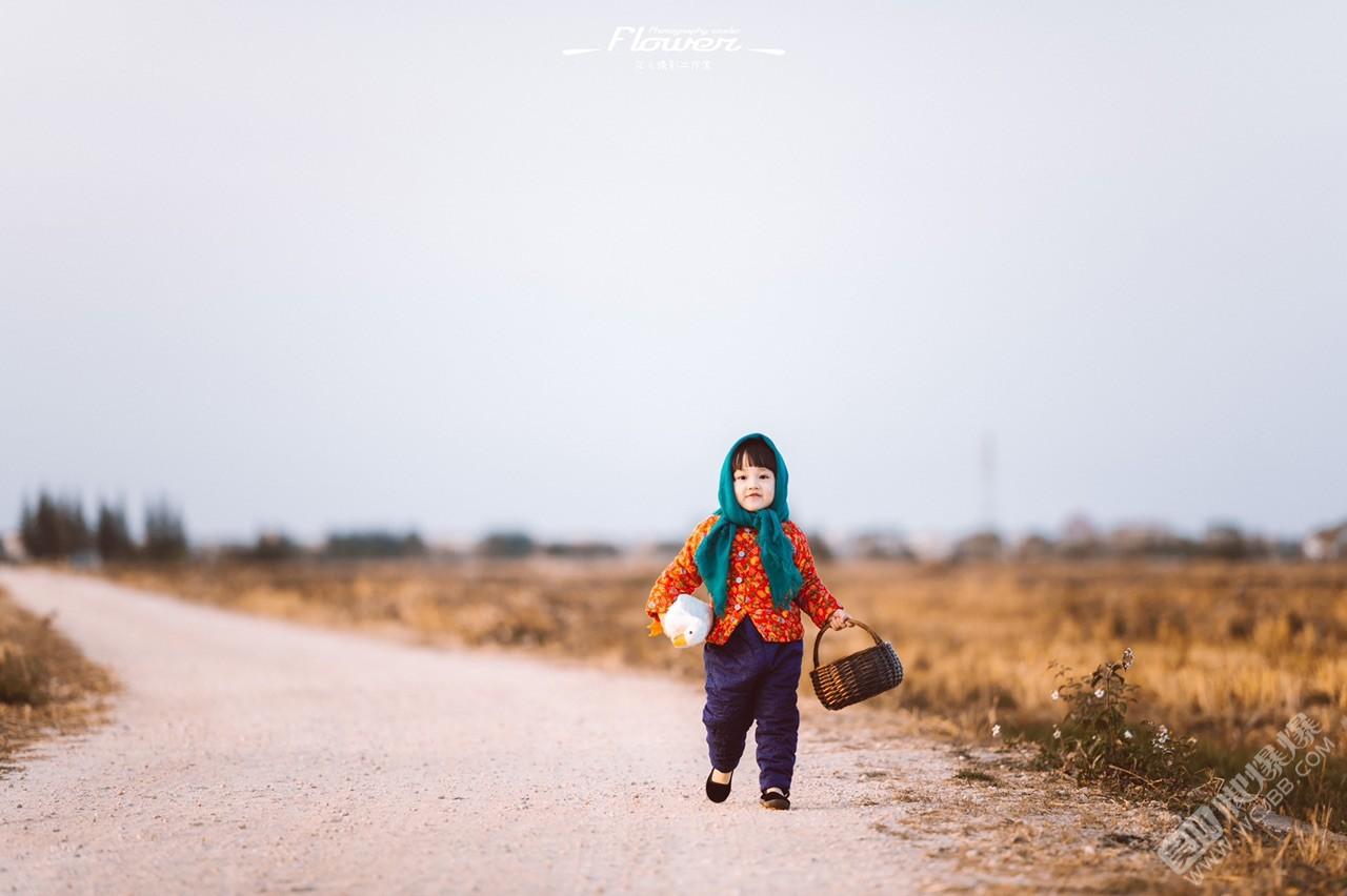 儿童外景写真