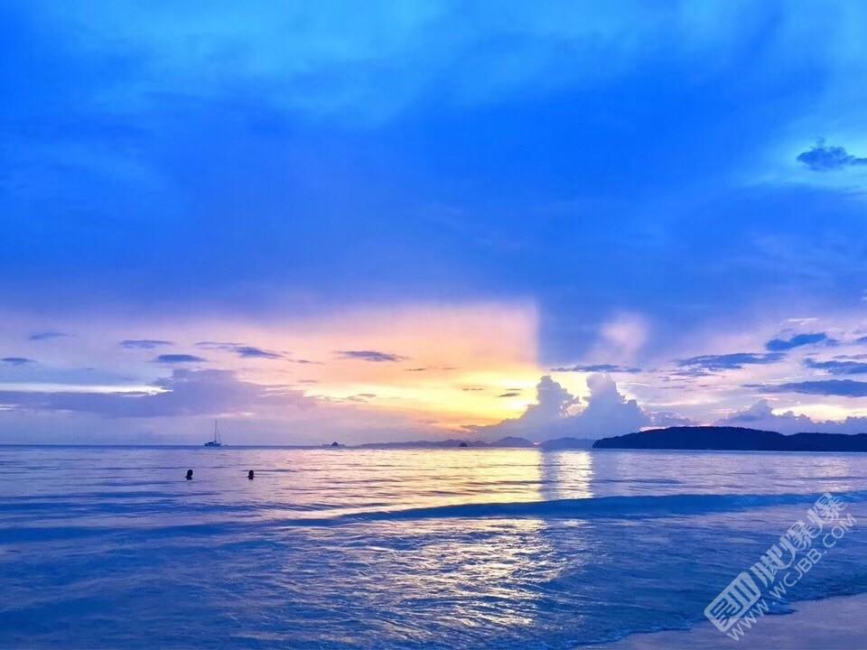 公司2019年公司团建泰国甲米阳光沙滩海滩,
