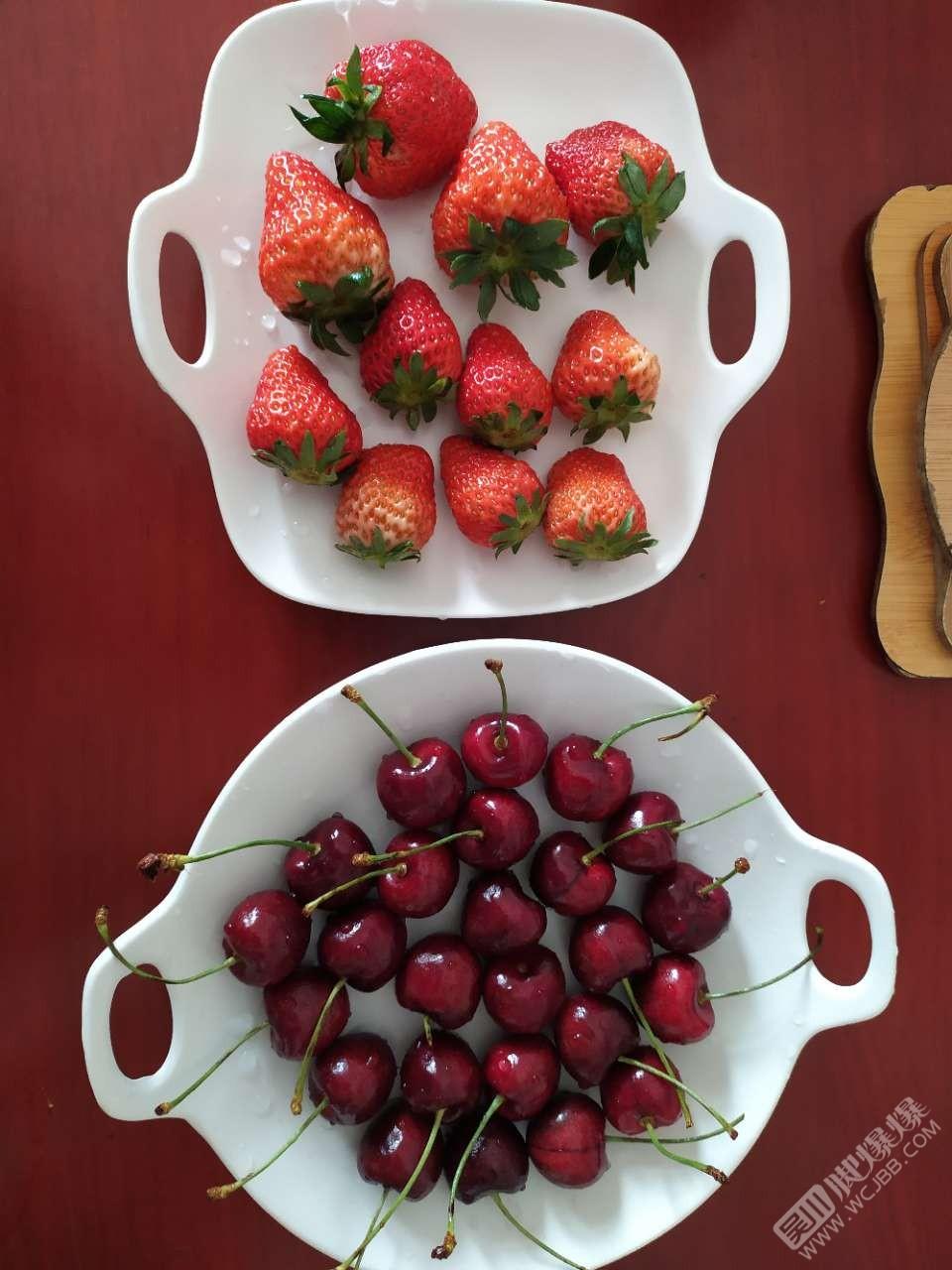 草莓、车厘子