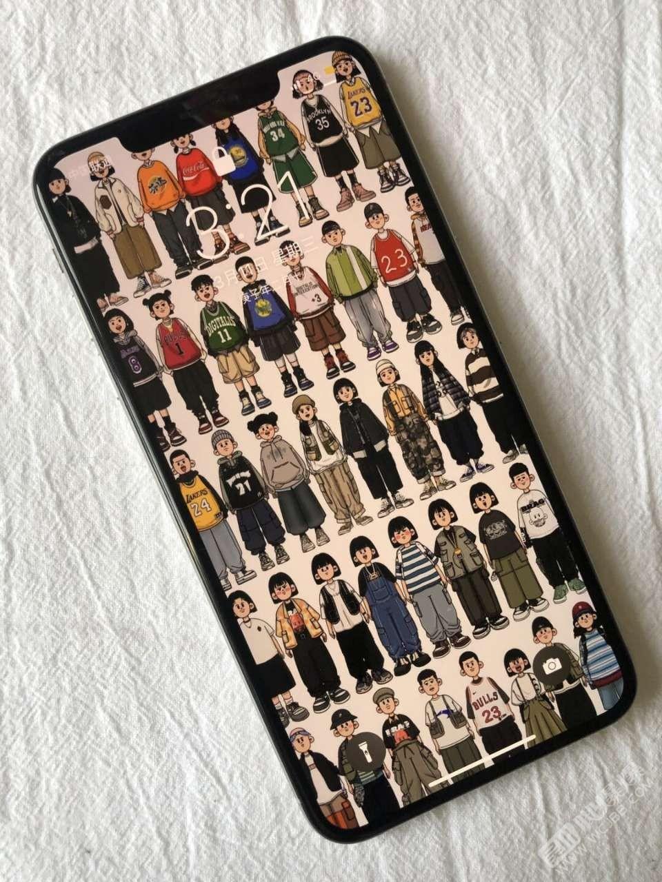 有見過這種手機壁紙的嗎?