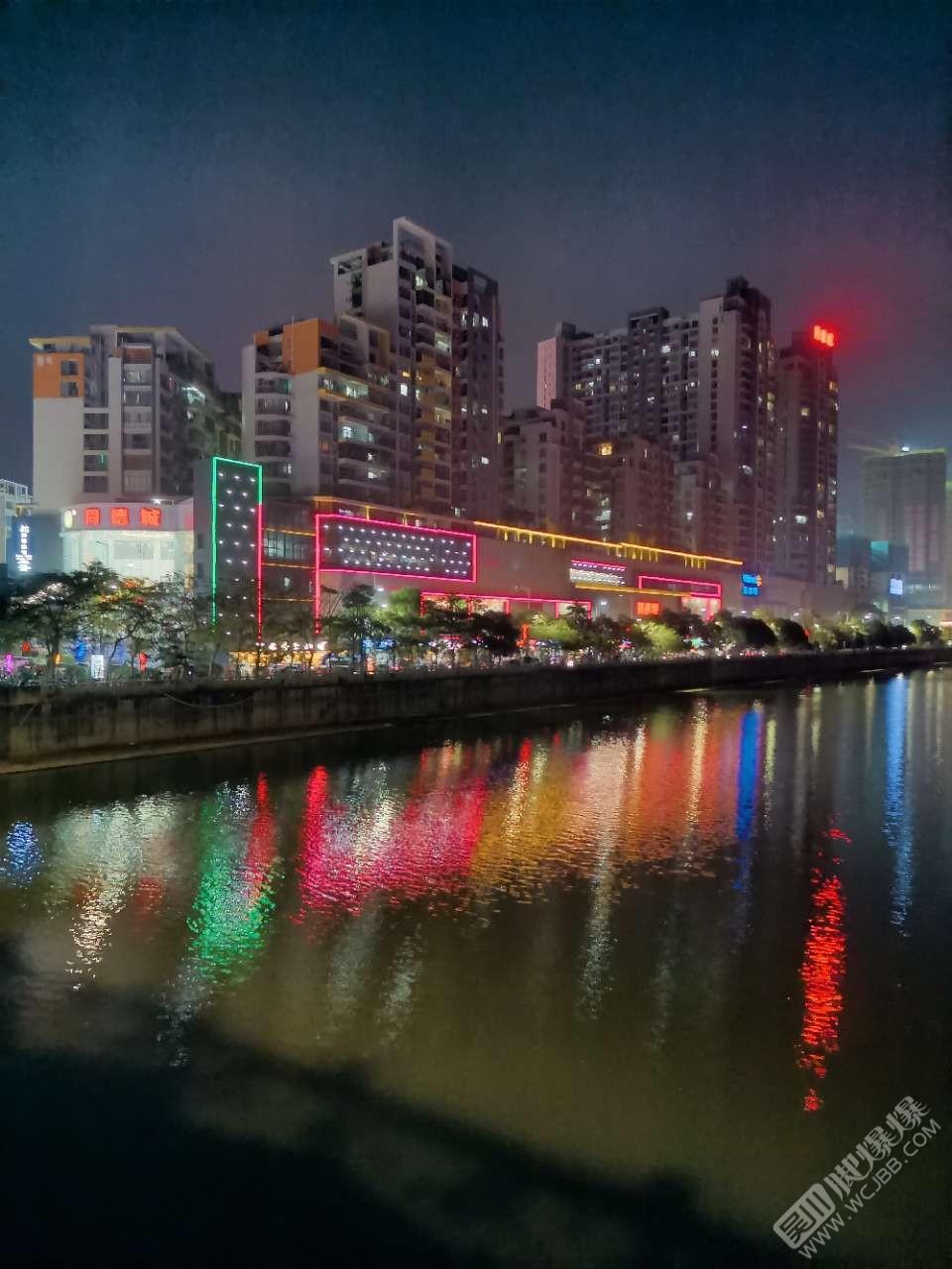 江心岛夜景