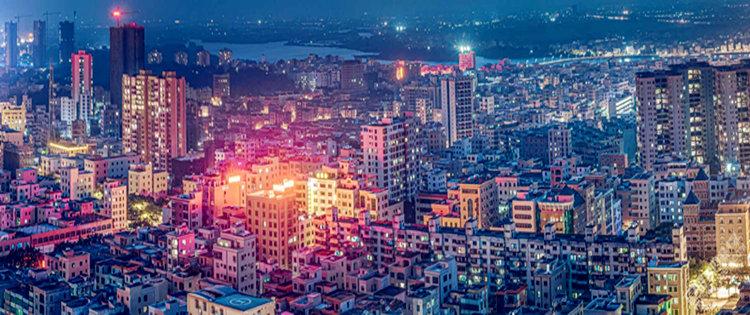 大吳川的夜景